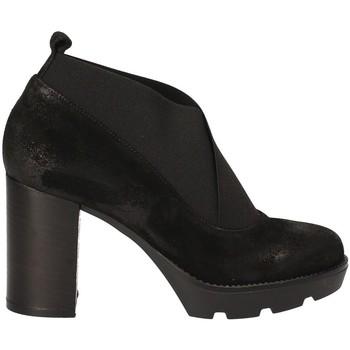 Cipők Női Bokacsizmák Janet Sport 40837 Fekete