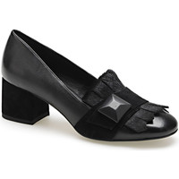 Cipők Női Mokkaszínek Apepazza ADY02 Fekete