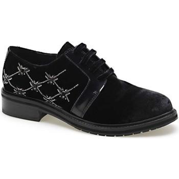 Cipők Női Oxford cipők Apepazza CMB03 Fekete