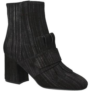 Cipők Női Bokacsizmák Apepazza LTZ02 Fekete