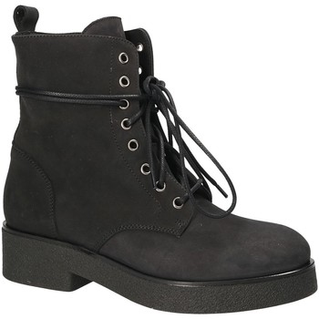 Cipők Női Bokacsizmák Mally 4235 Fekete