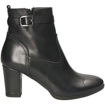 Cipők Női Bokacsizmák Mally 4473 Fekete