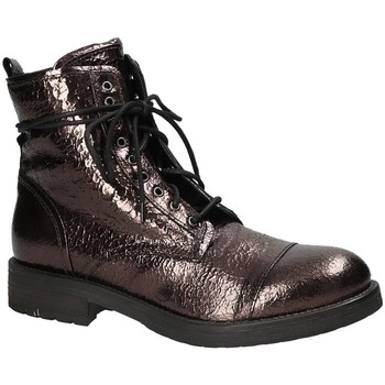 Cipők Női Csizmák Mally 5038 Barna