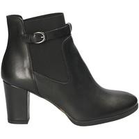 Cipők Női Bokacsizmák Mally 5114 Fekete