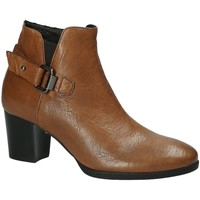 Cipők Női Bokacsizmák Mally 5404 Barna