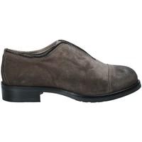 Cipők Női Oxford cipők Mally 5523 Szürke