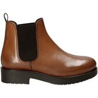 Cipők Női Bokacsizmák Mally 5535J Barna
