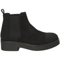 Cipők Női Bokacsizmák Mally 5536 Fekete