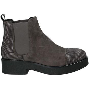 Cipők Női Bokacsizmák Mally 5536 Barna