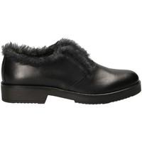 Cipők Női Mokkaszínek Mally 5885BR Fekete