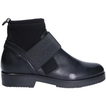 Cipők Női Bokacsizmák Mally 5887 Fekete