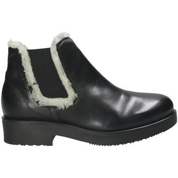 Cipők Női Bokacsizmák Mally 5894 Fekete