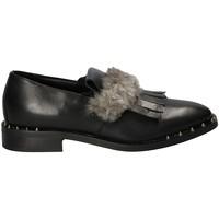 Cipők Női Mokkaszínek Mally 5970 Fekete