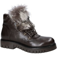 Cipők Női Csizmák Mally 5985 Barna