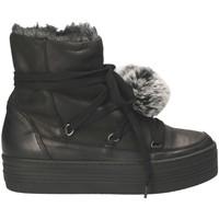 Cipők Női Hótaposók Mally 5991 Fekete