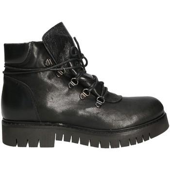 Cipők Női Csizmák Mally 5997 Fekete