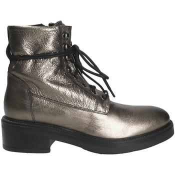 Cipők Női Bokacsizmák Mally 6005 Szürke