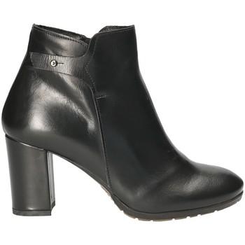 Cipők Női Bokacsizmák Mally 5017S Fekete