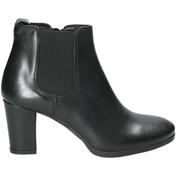 Cipők Női Bokacsizmák Mally 5500K Fekete