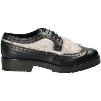 Cipők Női Oxford cipők Mally 4665SA Fekete
