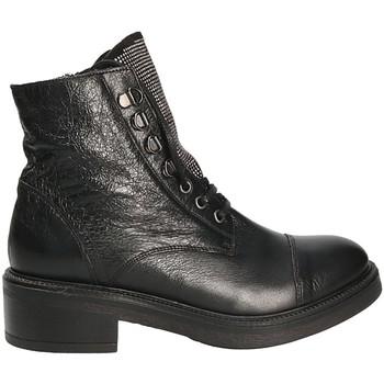 Cipők Női Bokacsizmák Mally 6019 Fekete