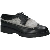 Cipők Női Oxford cipők Mally 4665SD Fekete