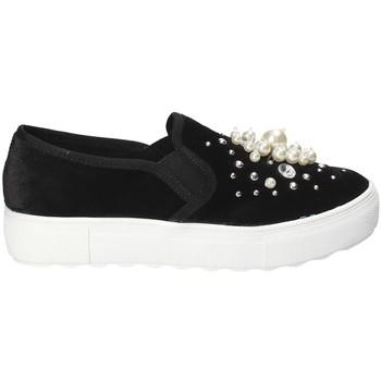 Cipők Női Belebújós cipők Fornarina PI18RU1149A000 Fekete