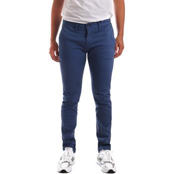 Ruhák Férfi Chino nadrágok / Carrot nadrágok Gaudi 911BU25007 Kék