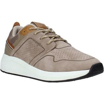Cipők Férfi Rövid szárú edzőcipők Wrangler WM01070A Bézs