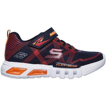 Cipők Gyerek Rövid szárú edzőcipők Skechers 90542N Kék