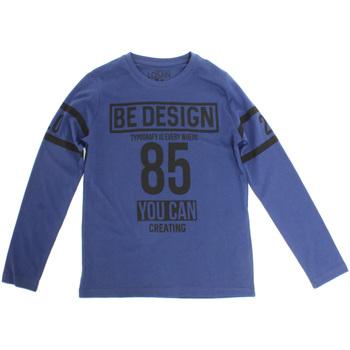 Ruhák Gyerek Hosszú ujjú pólók Losan 723 1203AA Kék