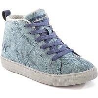 Cipők Gyerek Magas szárú edzőcipők Lumberjack SB32705 003 M64 Kék