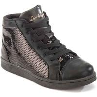 Cipők Gyerek Magas szárú edzőcipők Lumberjack SG32805 003 P79 Fekete