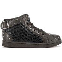 Cipők Gyerek Magas szárú edzőcipők Lumberjack SG32805 002 P78 Fekete