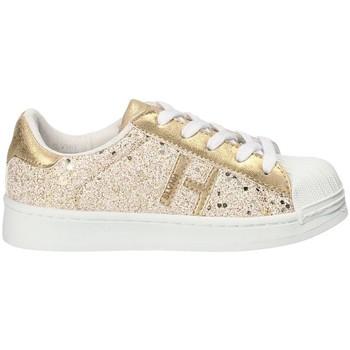 Cipők Lány Rövid szárú edzőcipők Silvian Heach SH-S18-0 Sárga