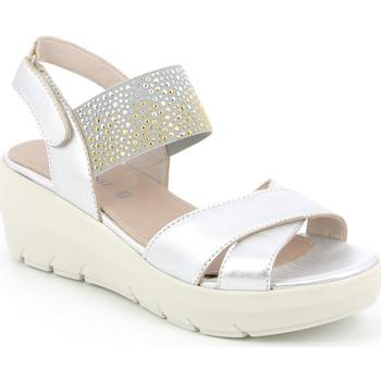 Cipők Női Szandálok / Saruk Grunland SA1880 Ezüst