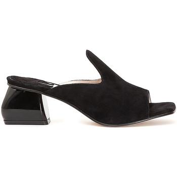 Cipők Női Papucsok Café Noir ME573 Fekete