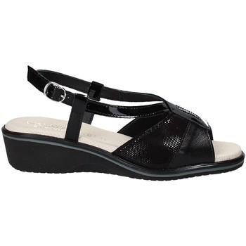 Cipők Női Szandálok / Saruk Susimoda 270414-01 Fekete