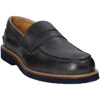 Cipők Férfi Mokkaszínek Exton 9102 Szürke