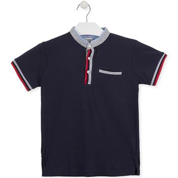 Ruhák Gyerek Rövid ujjú galléros pólók Losan 015-1791AL Kék