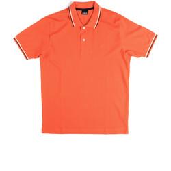 Ruhák Férfi Rövid ujjú galléros pólók Key Up 2Q70G 0001 Narancssárga