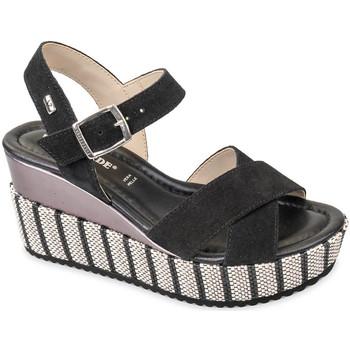 Cipők Női Szandálok / Saruk Valleverde 32435 Fekete