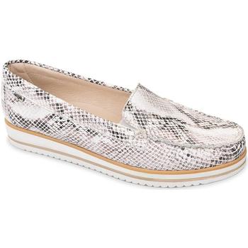 Cipők Női Mokkaszínek Valleverde 11108 Bézs