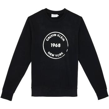 Ruhák Férfi Pulóverek Calvin Klein Jeans K10K104548 Fekete