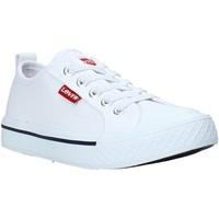 Cipők Gyerek Rövid szárú edzőcipők Levi's VORI0005T Fehér