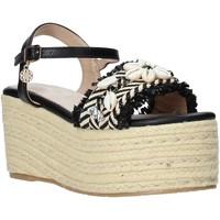 Cipők Női Gyékény talpú cipők Gold&gold A20 GK50 Fekete