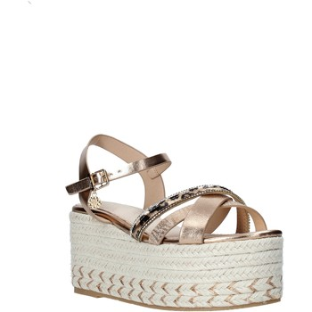 Cipők Női Gyékény talpú cipők Gold&gold A20 GK52 Bézs