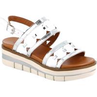 Cipők Női Szandálok / Saruk Grunland SA2541 Fehér