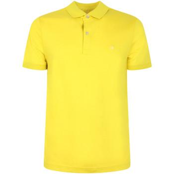 Ruhák Férfi Rövid ujjú galléros pólók Calvin Klein Jeans K10K105182 Sárga