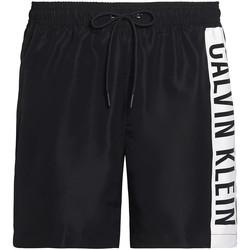 Ruhák Férfi Fürdőruhák Calvin Klein Jeans KM0KM00437 Fekete